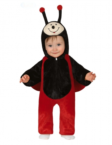 Costume per neonato da coccinella