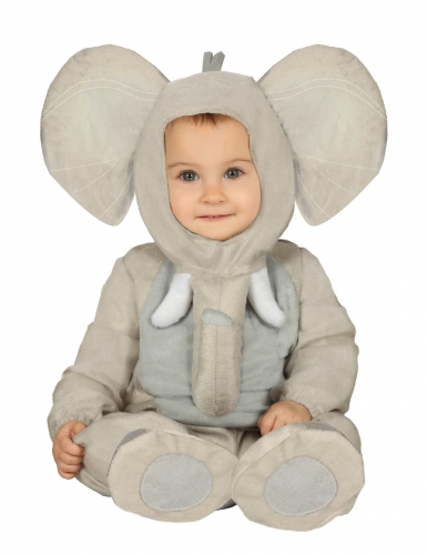 Costume da elefante peluche neonato