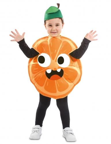 Costume da arancia per bambino