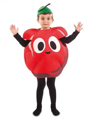 Costume da mela rossa per bambino-1