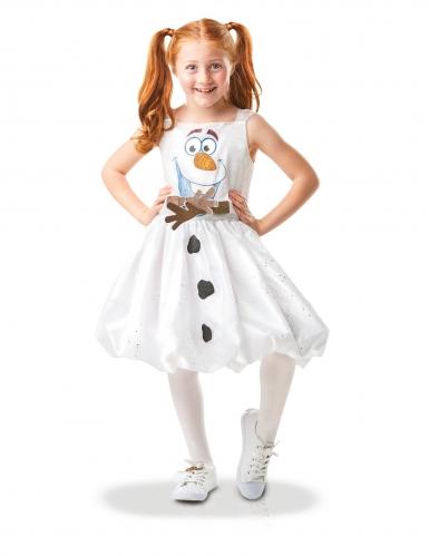 Costume da Olaf animato Frozen 2™ per bambina