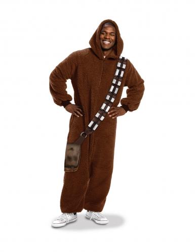 Costume tuta Star Wars Chewbecca™ per adulto-1