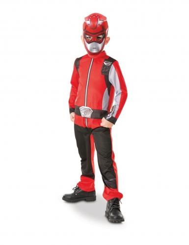 Costume da power rangers rosso per bambino
