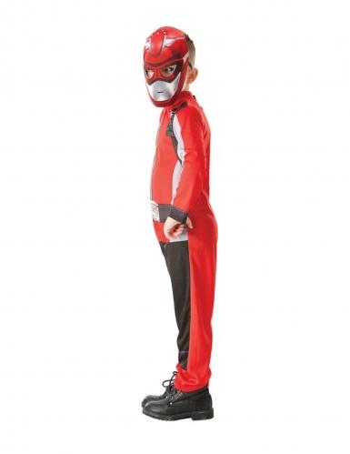 Costume da power rangers rosso per bambino-1