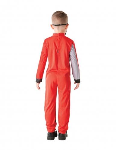 Costume da power rangers rosso per bambino-2
