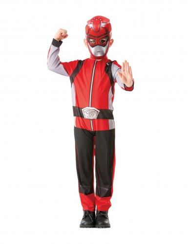 Costume da power rangers rosso per bambino-3