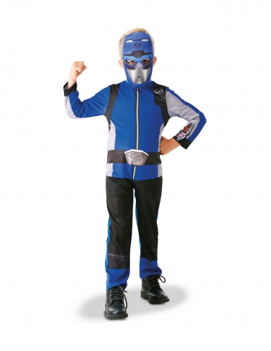 Costume da power rangers blu per bambino