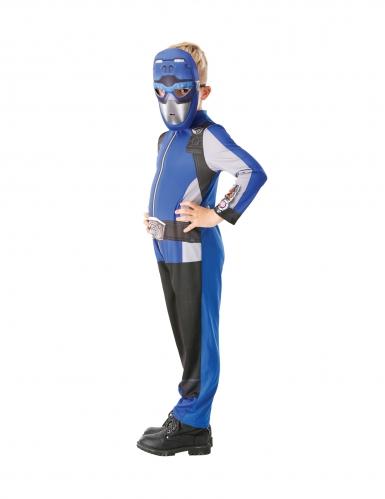 Costume da power rangers blu per bambino-1
