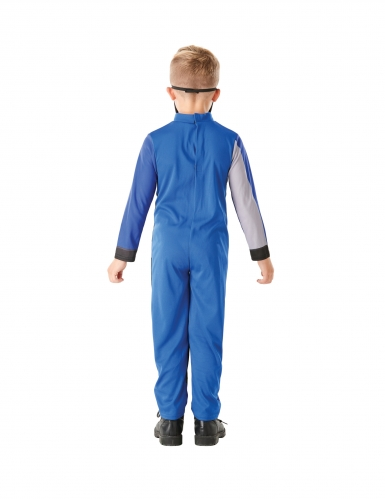Costume da power rangers blu per bambino-3