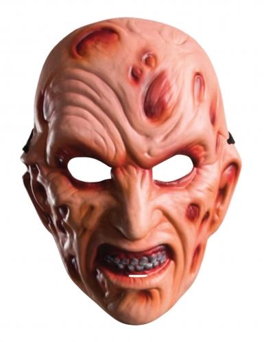 Maschera in plastica Freddy™ adulto-1