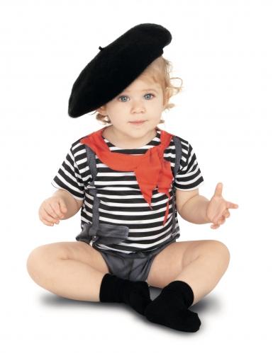Costume body da mimo per bebè