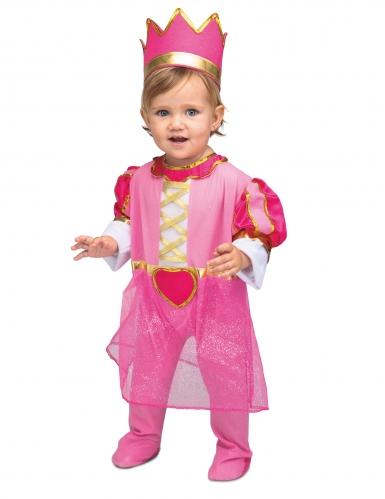 Costume da principessa con corona per bebè