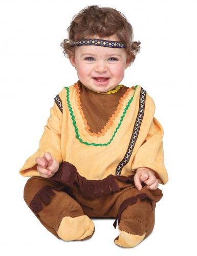 Costume con fascia da indiano per bebè