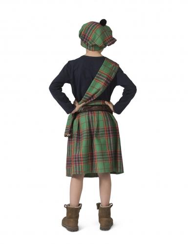 Costume verde da scozzese per bambino-1