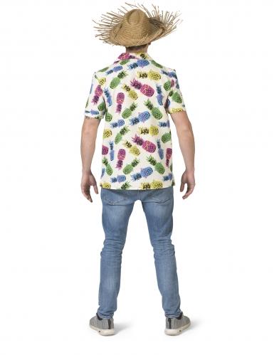 Camicia con motivi ad ananas per uomo-1