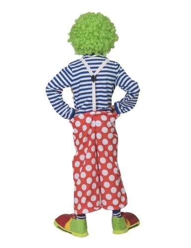 Costume da clown con bretelle per bambino-1