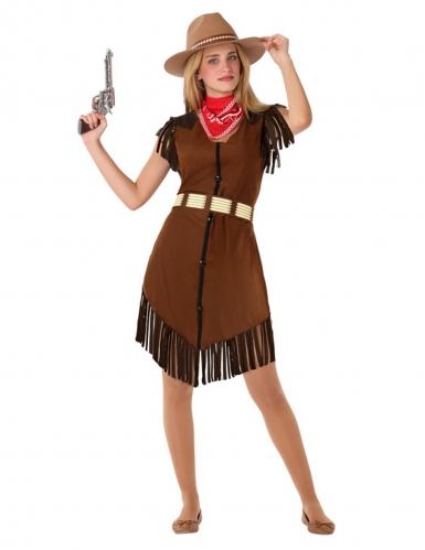 Costume cowgirl per adolescente