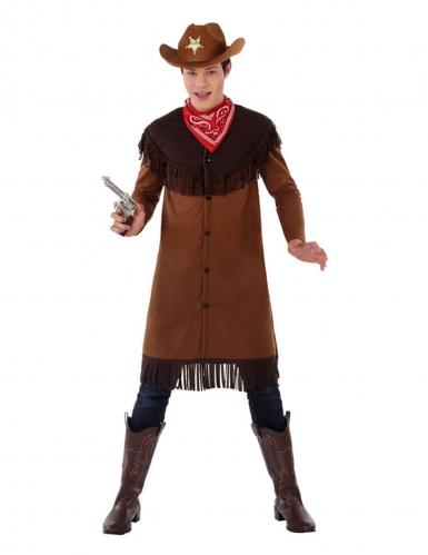 Costume da cowboy per adolescente