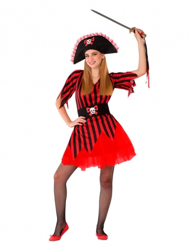 Costume da piratessa per adolescente