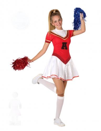 Costume da ragazza pompom americana adolescente