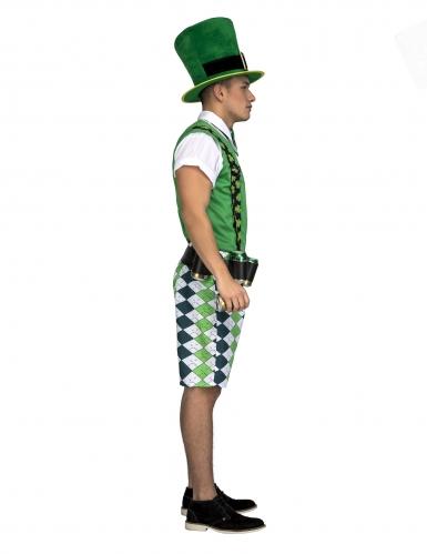 Costume da Irlandese con cintura porta birra adulto-1