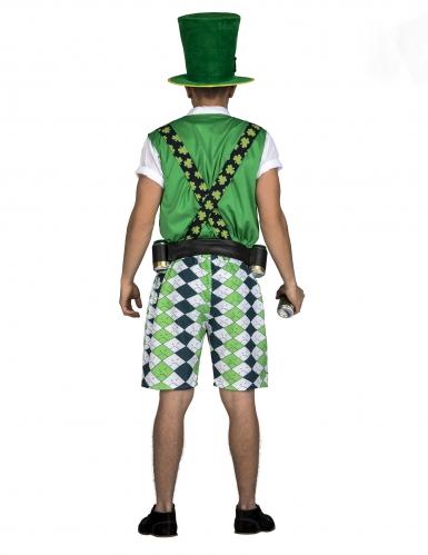 Costume da Irlandese con cintura porta birra adulto-2