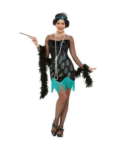 Costume Anni '20 pavone per donna