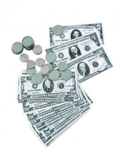 Kit di dollari in banconote e monete