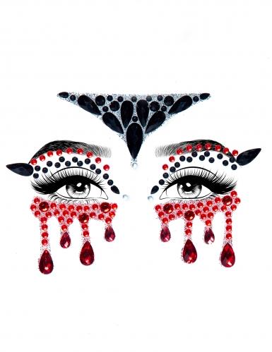 Bijoux per viso adesivi vampiro-1