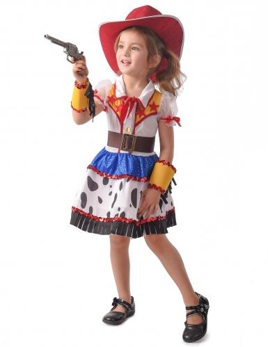 Costume cowgirl cartoni animati bambina
