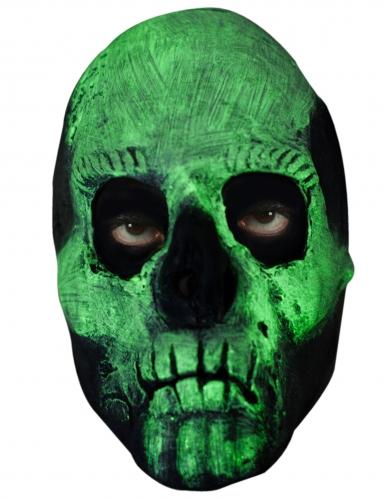 Maschera scheletro fosforescente adulto-1
