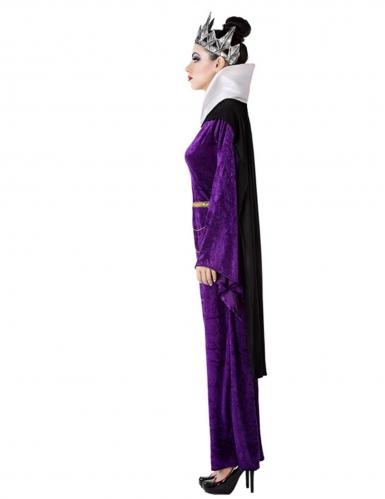 Costume da regina cattiva viola per donna-1