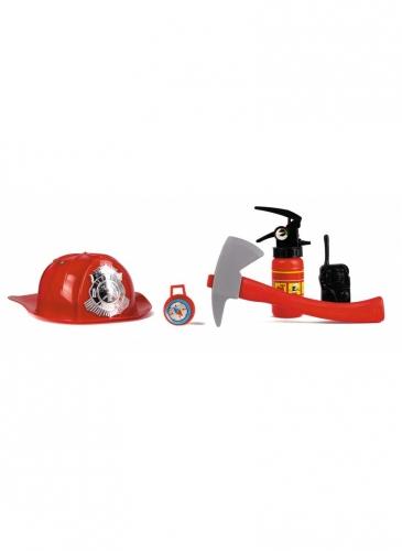 Costume da pompiere con accessori per bambini-2