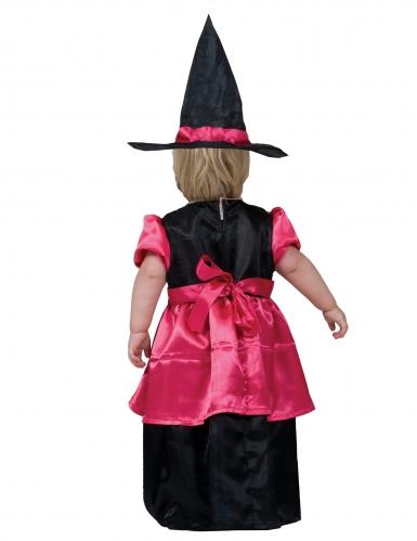 Costume strega rosa bebè-1
