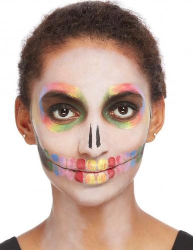 Kit trucco scheletro multicolore per donna-1