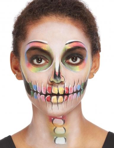 Kit trucco scheletro multicolore per donna-2