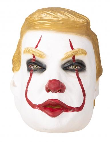 Maschera Trumpy il clown adulto