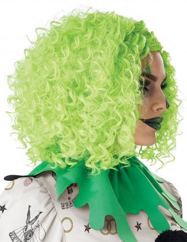 Parrucca clown verde adulto-1