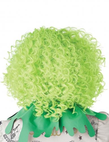 Parrucca clown verde adulto-2