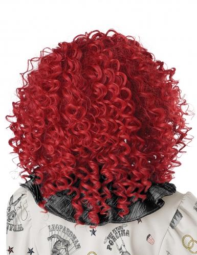 Parrucca clown rossa adulto-2