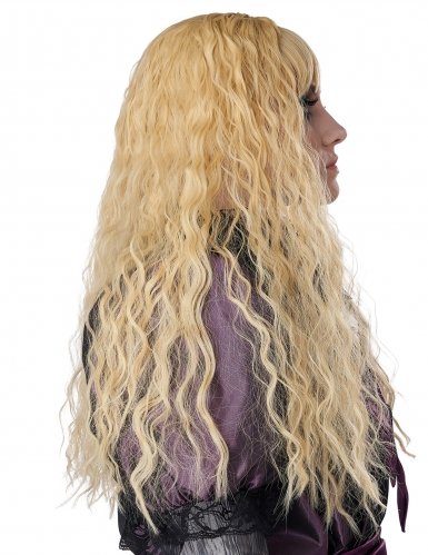 Parrucca lunga ondulata bionda bambina-2