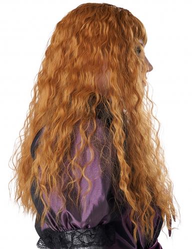 Parrucca lunga ondulata rossa bambina-2