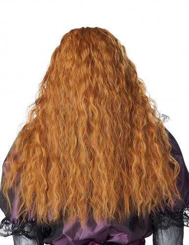 Parrucca lunga ondulata rossa bambina-3