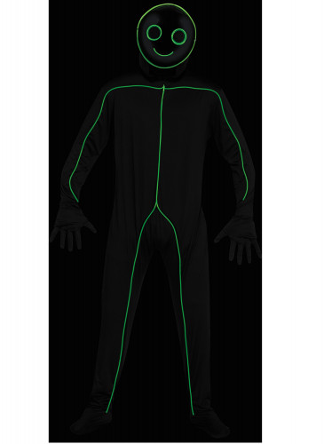 Costume omino led adulto-2