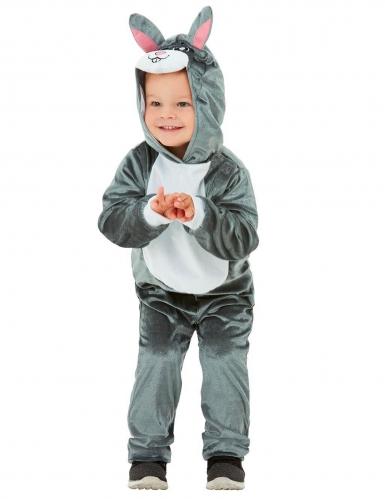 Costume coniglio grigio bebè-1
