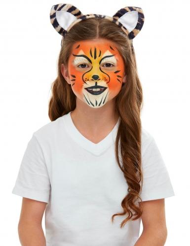Kit trucco e accessori da tigre per bambino