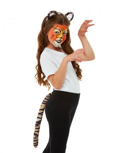 Kit trucco e accessori da tigre per bambino-4