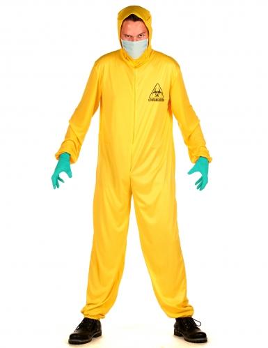 Costume tuta anti contaminazione per adulto