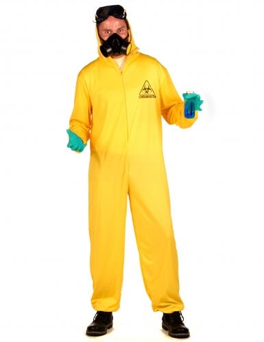 Costume tuta anti contaminazione per adulto-2