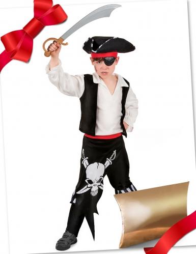Cofanetto regalo travestimento e accessori da pirata per bambino